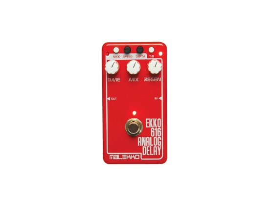 Malekko Heavy Industry E616 Analog Delay Guitar Effects Pedal