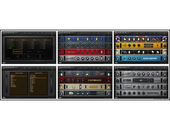 Nomad Factory - Magma Virtual Studio Rack Matrix