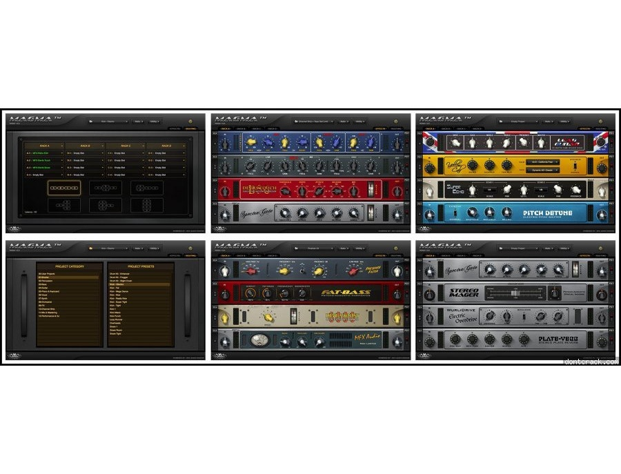 Nomad Factory - Magma Virtual Studio Rack Matrix