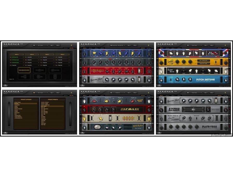 Nomad factory magma virtual studio rack matrix xl