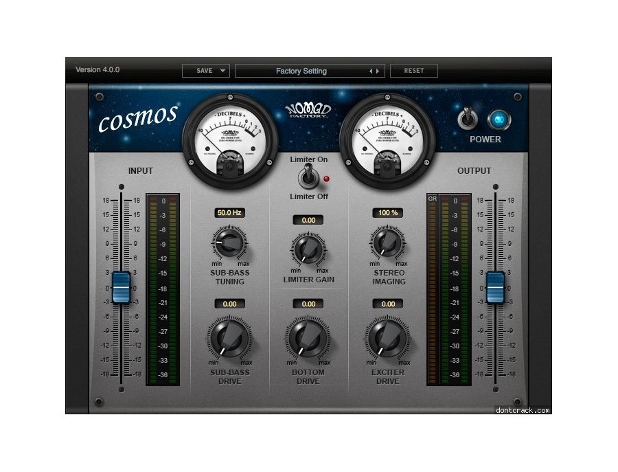 Nomad Factory - Cosmos Harmonic Exciter and Sub Generator