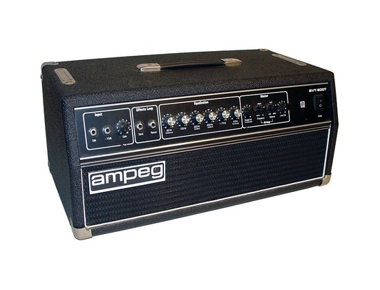 Ampeg SVT 200T Amplifier Head