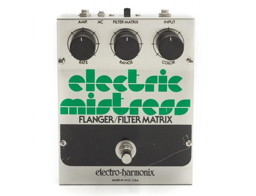 Electro harmonix electric mistress flanger filter matrix xl
