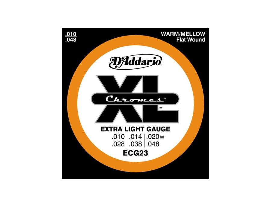 D'Addario ECG23 Chrome Extra Light Electric Guitar Strings