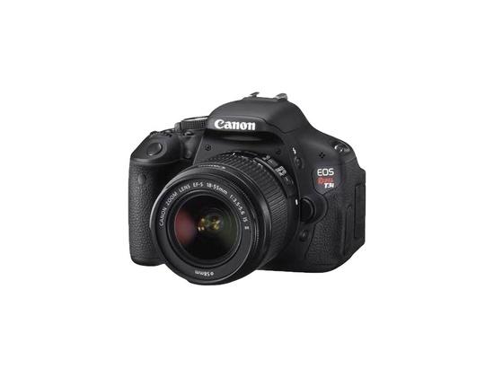 Canon EOS Rebel T3i DSLR Camera