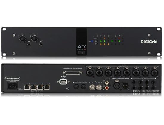 DiGiGrid IOS - High-Definition I/O with SoundGrid DSP Server