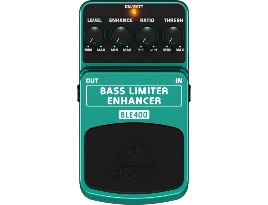Behringer BLE400 Bass Limiter Enhancer pedal