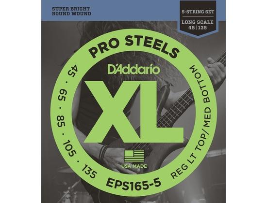 D'Addario EPS165-5 Pro Steels