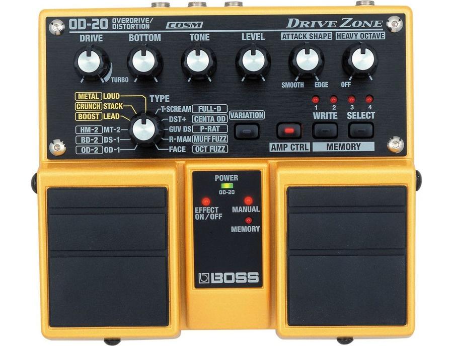 Boss OD-20 Drive Zone Twin Pedal w/COSM