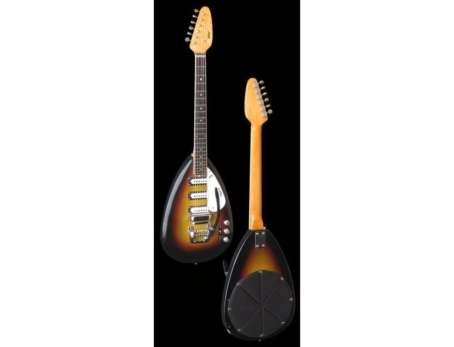 Vox mark vi teardrop electric guitar xl