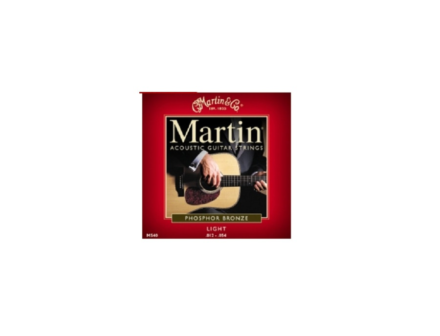 Martin acoustic guitar strings xl