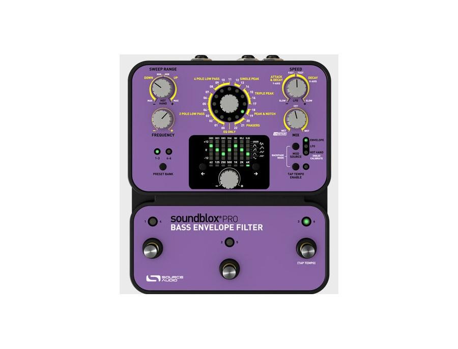 Source audio soundblox pro bass envelope filter xl
