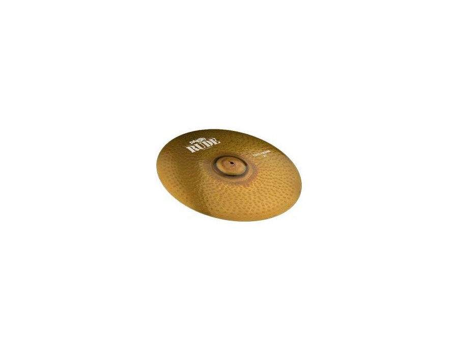 "Paiste 20"" Rude Thin Crash Cymbal"