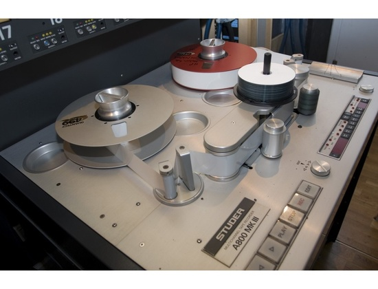 Studer A-800 MKIII 24 Track Tape Recorder