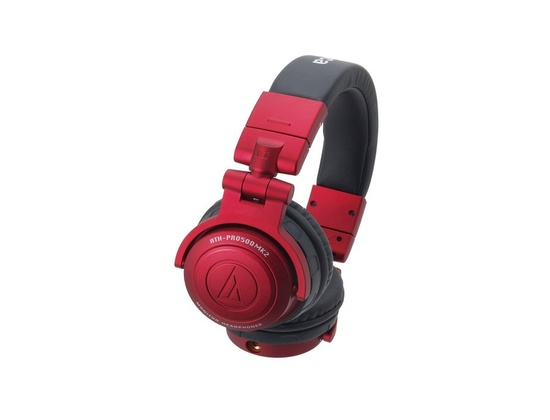 Audio Technica ATH-PRO500MK2 RED DJ Monitor Headphones