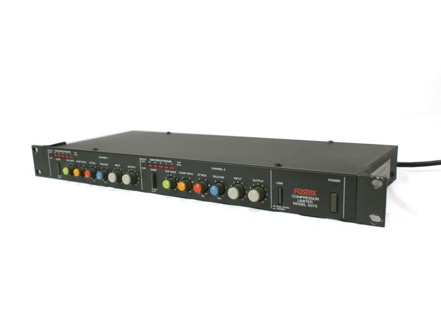 Fostex 3070 compressor limiter xl