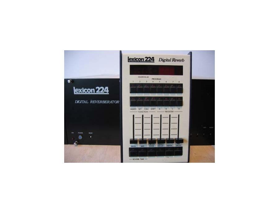 Lexicon 224 Digital Reverberator