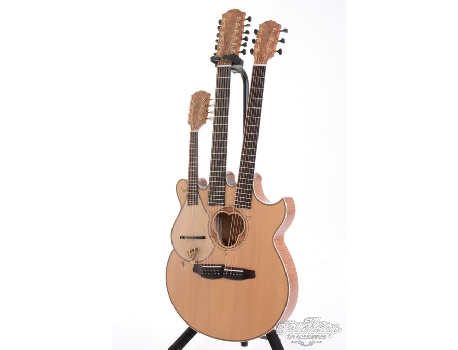 Manson John Paul Jones Triple Neck Guitar