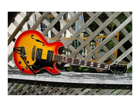 Toyota Semi-Hollow Electric Guitar
