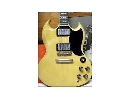 Gibson Johnny Marr Custom Blonde SG Electric Guitar