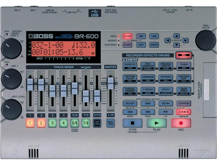 Boss br 600 digital recorder xl