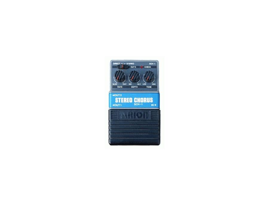 Arion sch 1 stereo chorus pedal xl