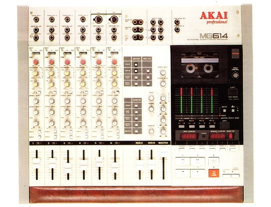 Akai MG 614 Mixer / 4 Track Recorder