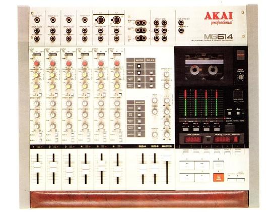 Akai MG 614 Mixer / 4 Track Recorder