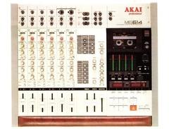 Akai mg 614 mixer 4 track recorder s
