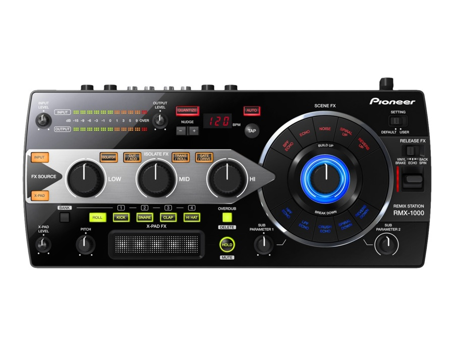 Pioneer rmx 1000 remix station xl