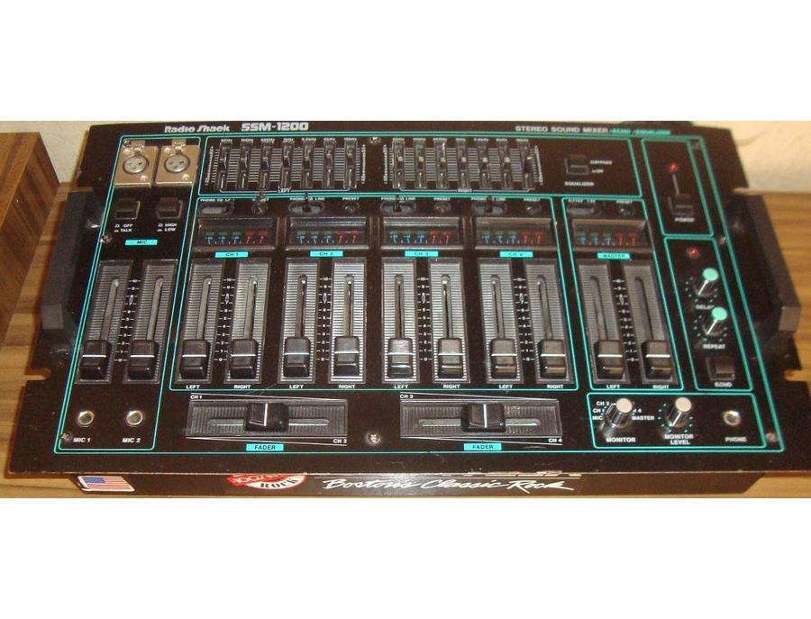 Radio shack ssm 1200 stereo mixer xl