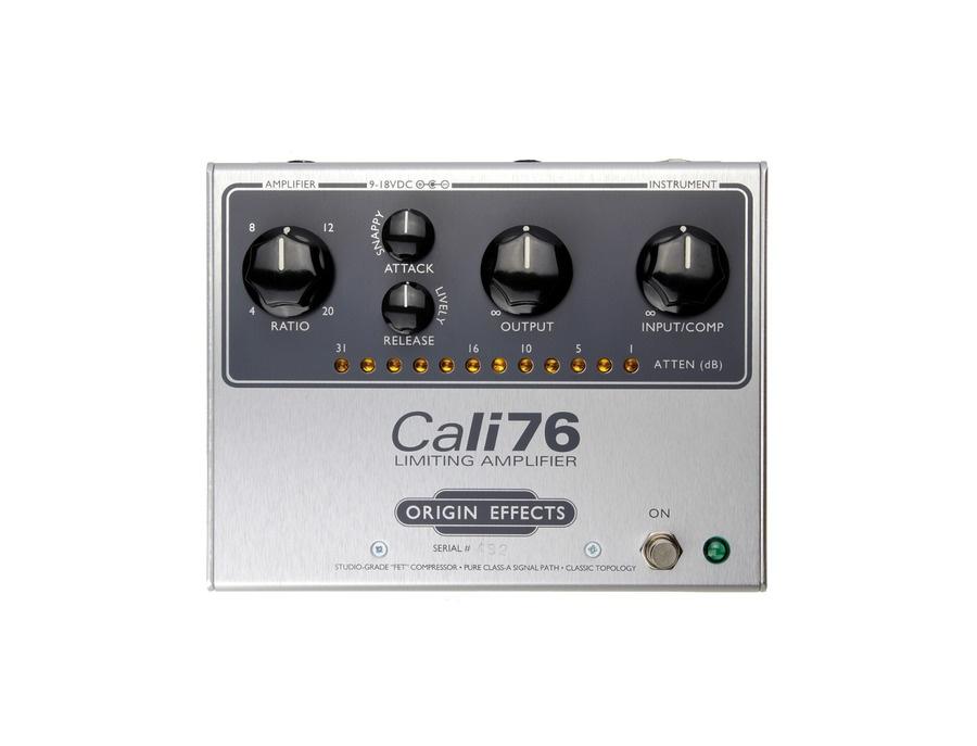 Origin effects cali76 standard limiting amplifier pedal xl