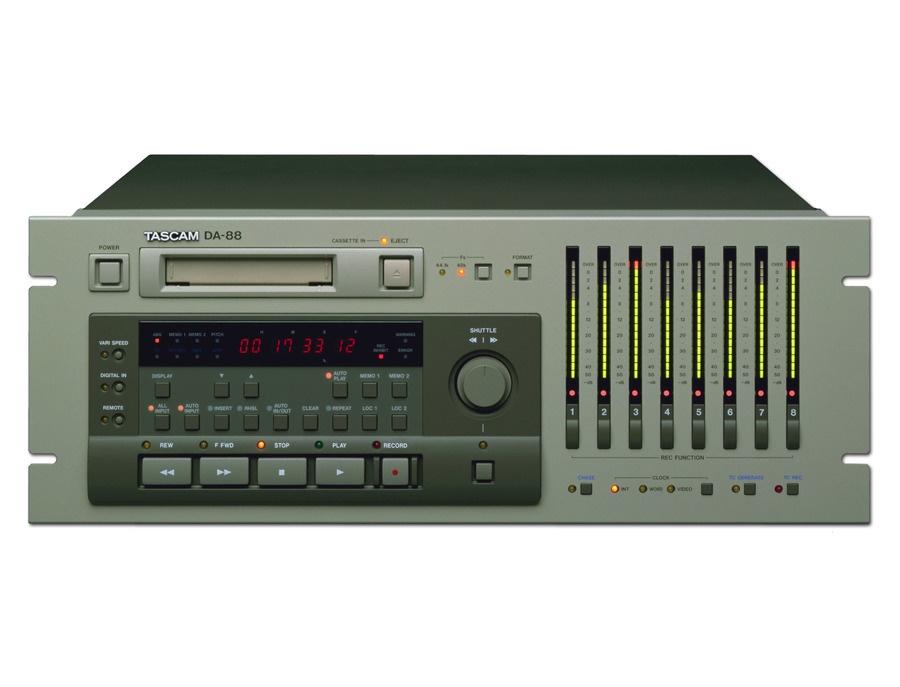 Tascam da 88 digital recorder xl