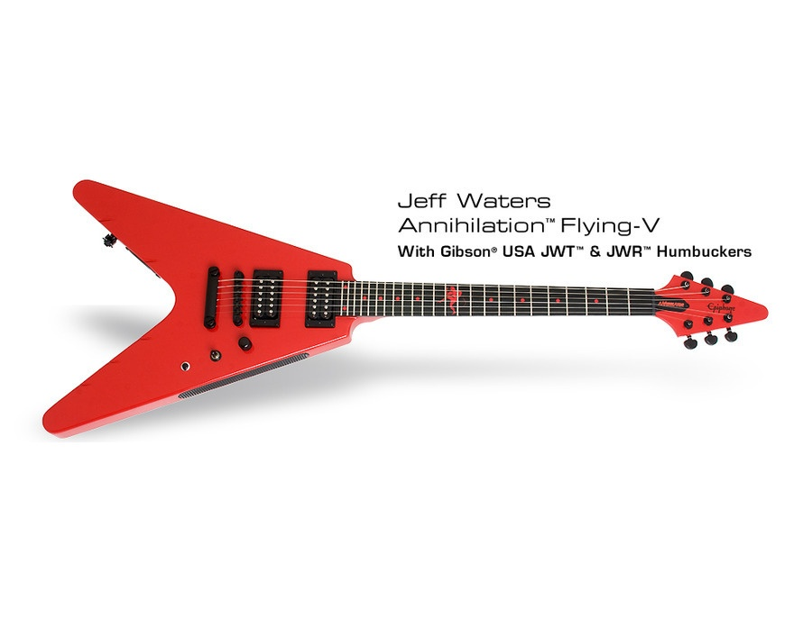 "Epiphone Jeff Waters ""Annihilation-V"""