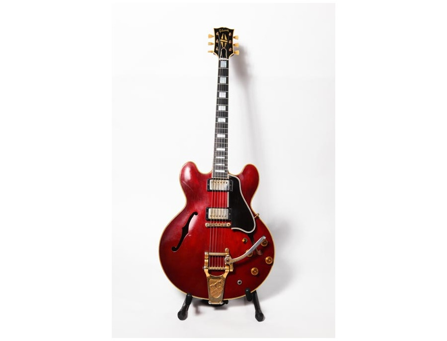 1958 Gibson ES-355 Mono Black Electric Guitar