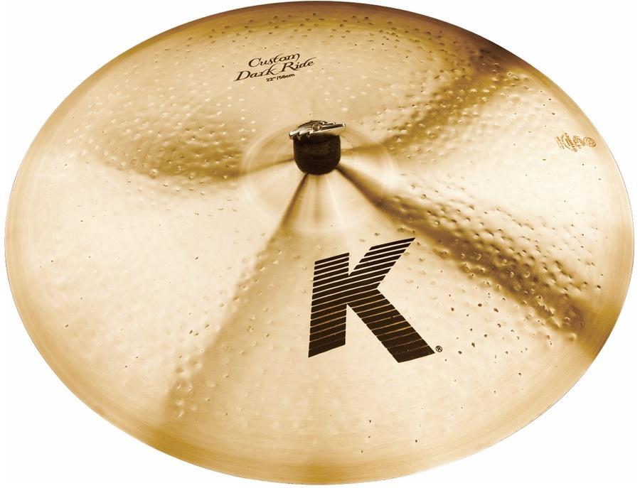 "Zildjian 22"" K Custom Dark Ride Cymbal"