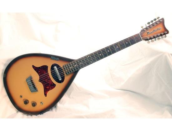 Danelectro Bellzouki 12 String Semi-Hollow Body Electric Guitar