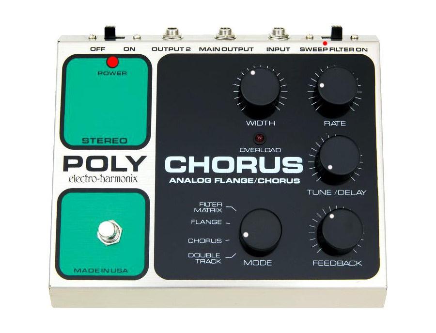 Electro harmonix vintage polychorus pedal xl