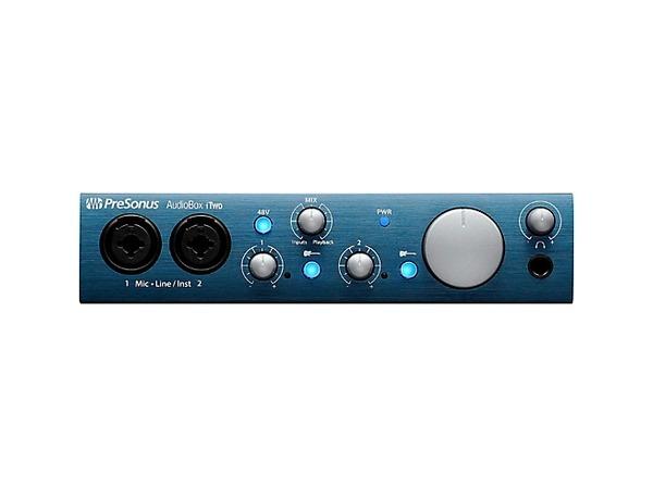 PreSonus AudioBox iTwo 2x2 USB/iPad Recording System
