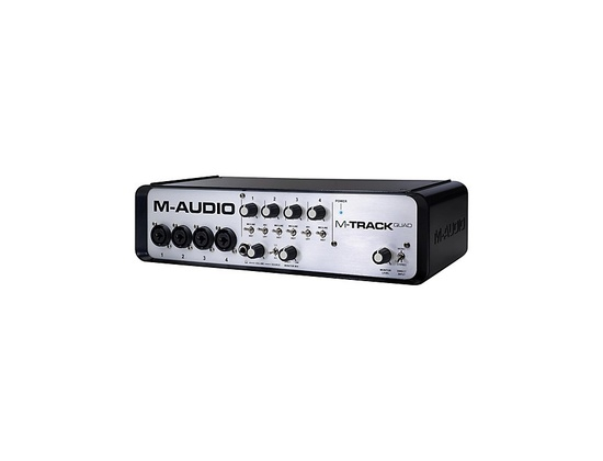 M-Audio M-Track Quad 4 Channel Audio Plus USB MIDI Interface