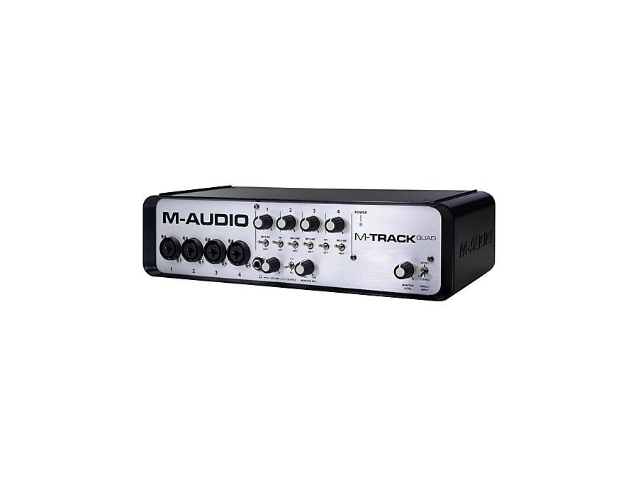 M-Audio M-Track Quad 4 Channel Audio Plus USB MIDI Interface