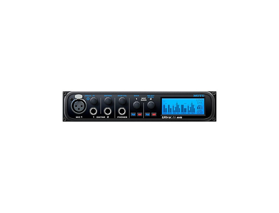 MOTU UltraLite AVB Audio Interface
