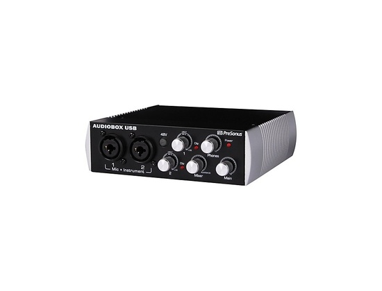 PreSonus Black Audiobox 2x2 USB 2.0 Recording System
