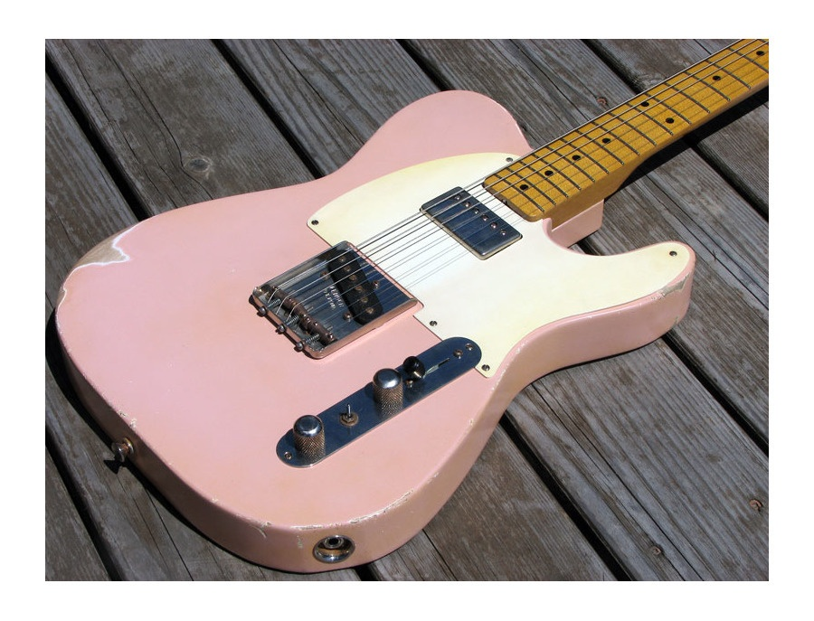 Fender Telecaster Custom Bubblegum Pink Electric Guitar