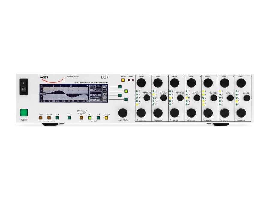 Weiss EQ1 seven-band equalizer