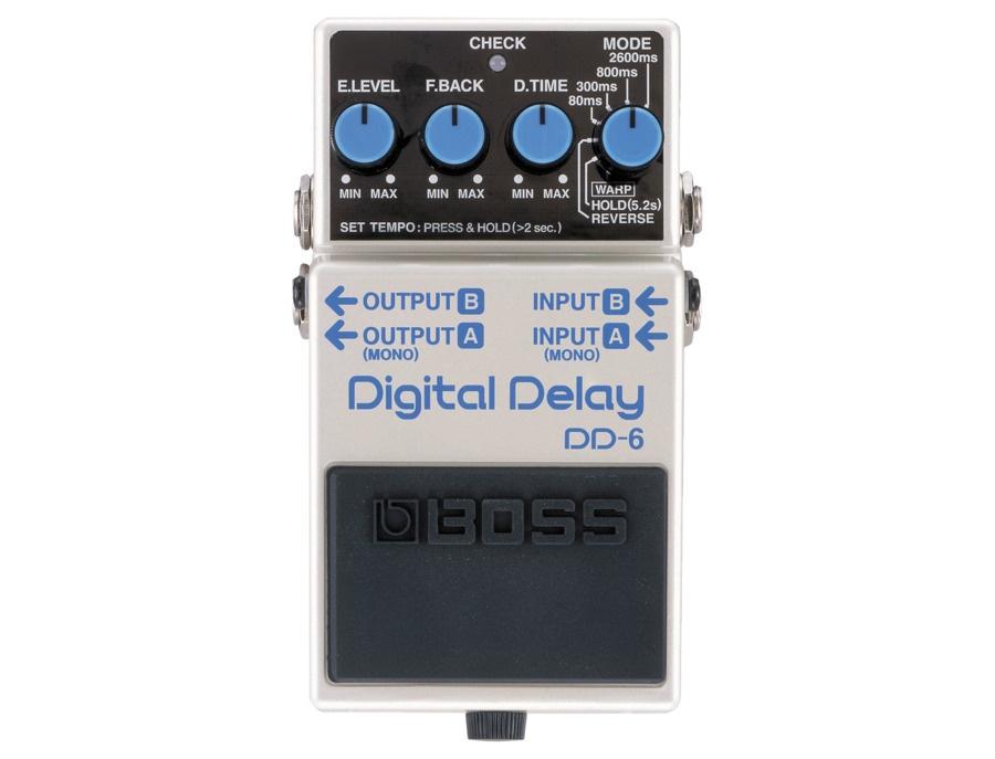 Boss dd 6 digital delay pedal xl