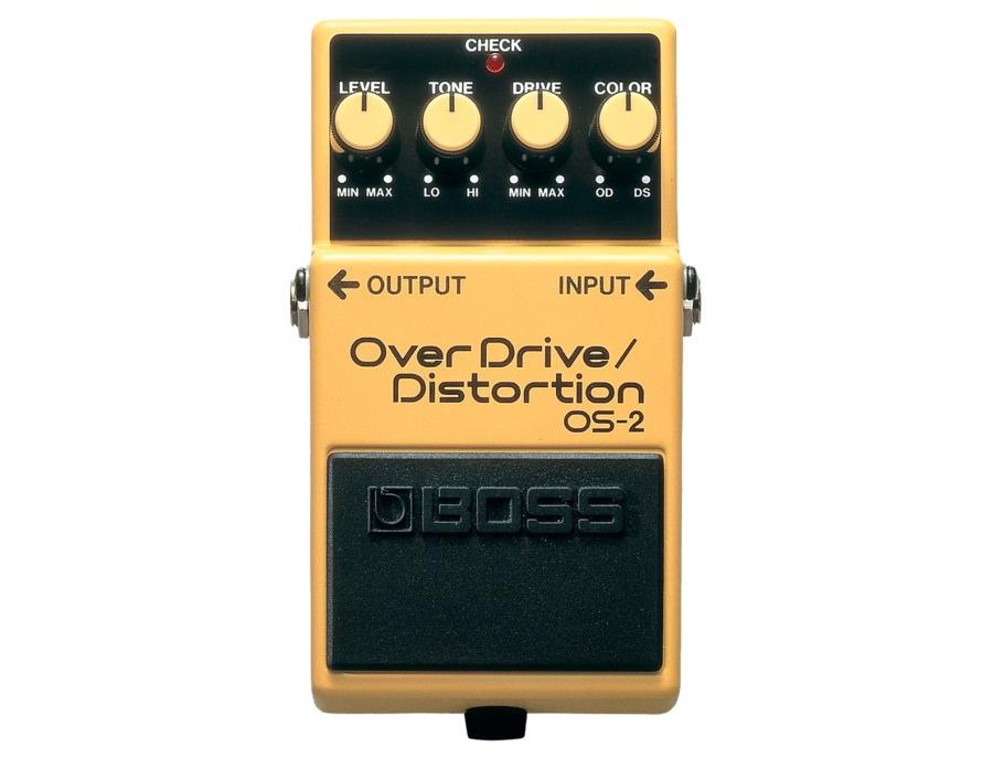 Boss os 2 overdrive distortion pedal xl