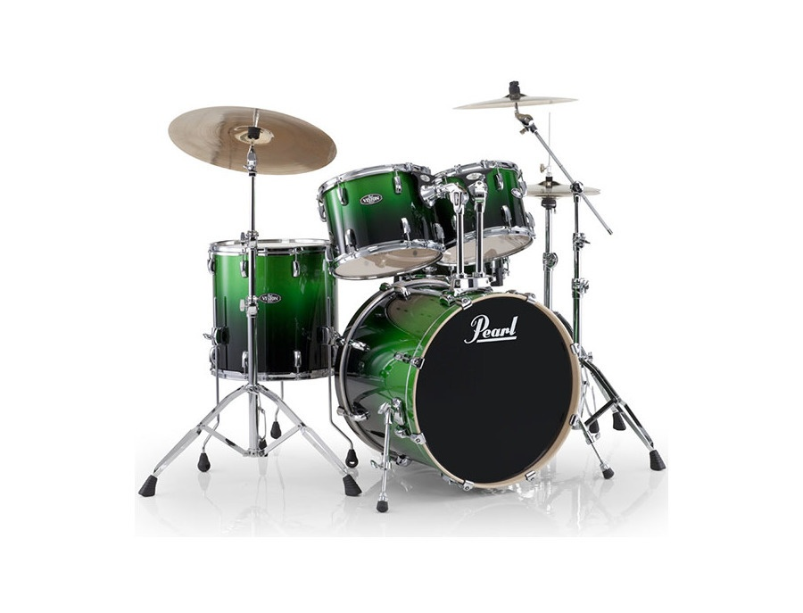 Pearl Vision VBL Viridian Green Drum Kit