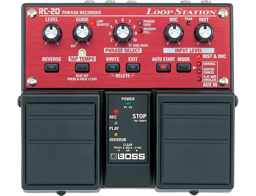 Boss rc 20 loop station xl