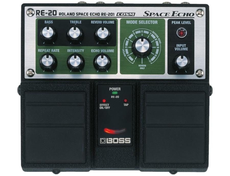 Boss roland re 20 space echo pedal xl